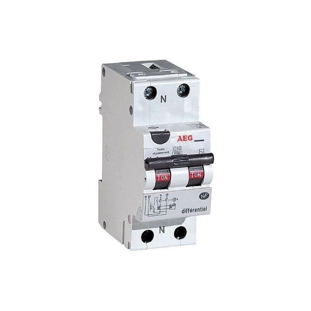 AEG AEG - Disjoncteur différentiel phase + neutre 16A-30mA
