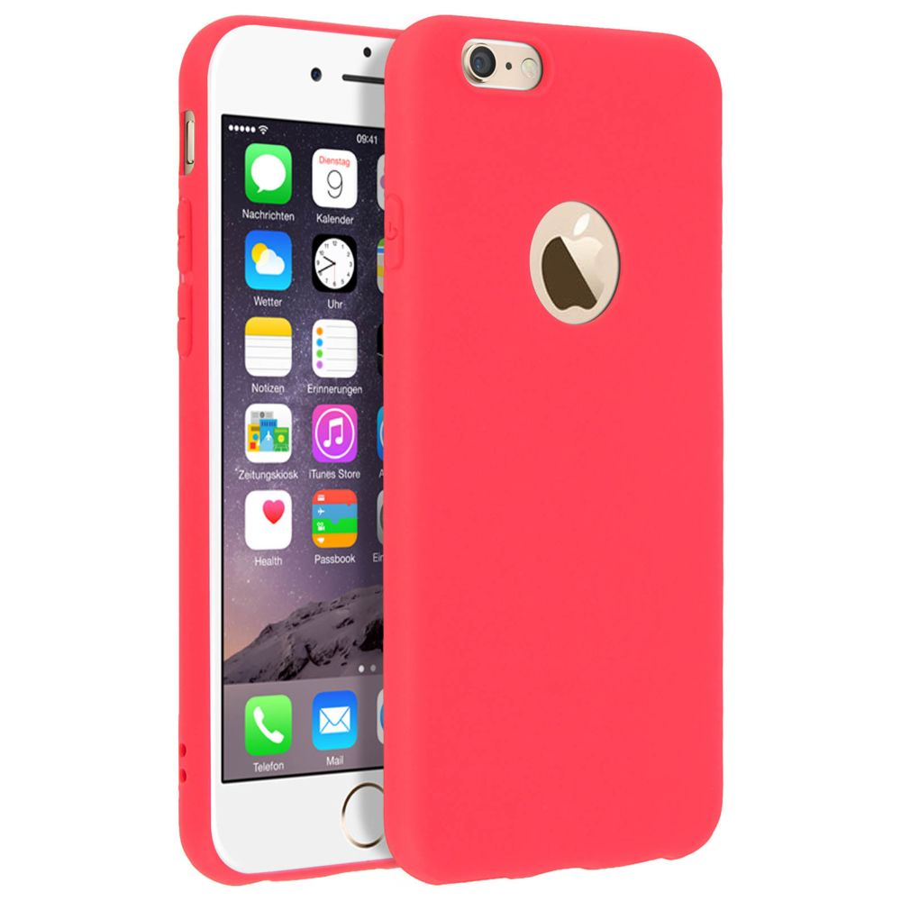 Forcell - Forcell Coque iPhone 6 , iPhone 6S Coque Soft Touch ...