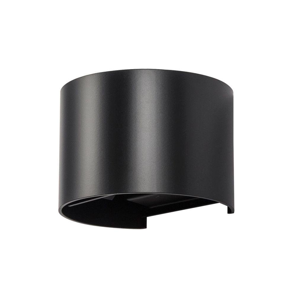 Yonis Applique Murale LED Circulaire 480 Lumens Puissance 6W Lumière Blanc Noir - YONIS
