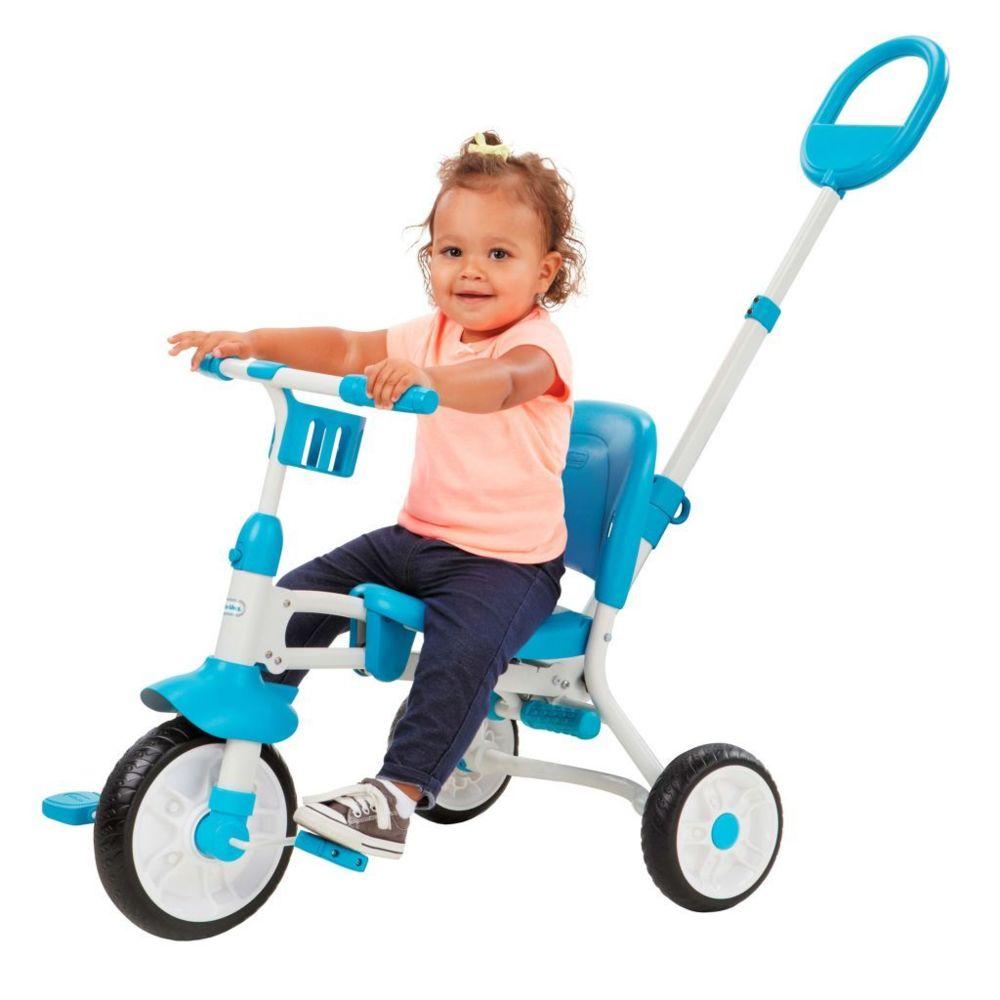Little Tikes Little Tikes Tricycle 3-en-1 Pack 'n Go Bleu 645747