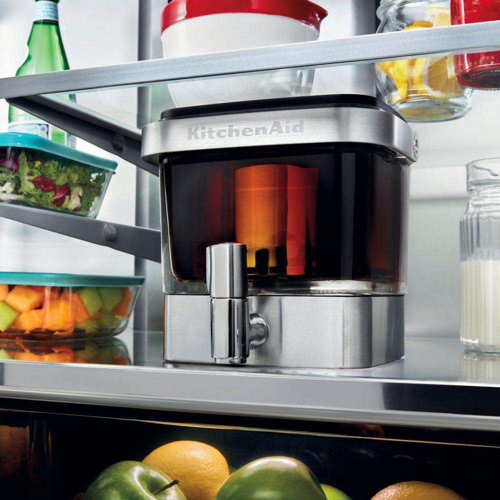 Kitchenaid appareil pour infusion à froid pendant 12 à 24 heures gris