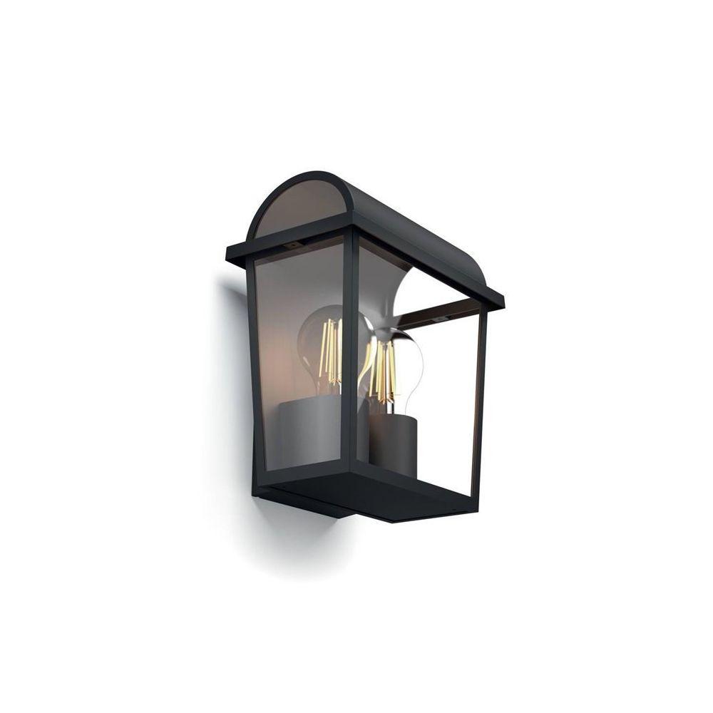 Philips HARVEST-Applique d'extérieur 2 Lumières Métal H23cm Noir Philips