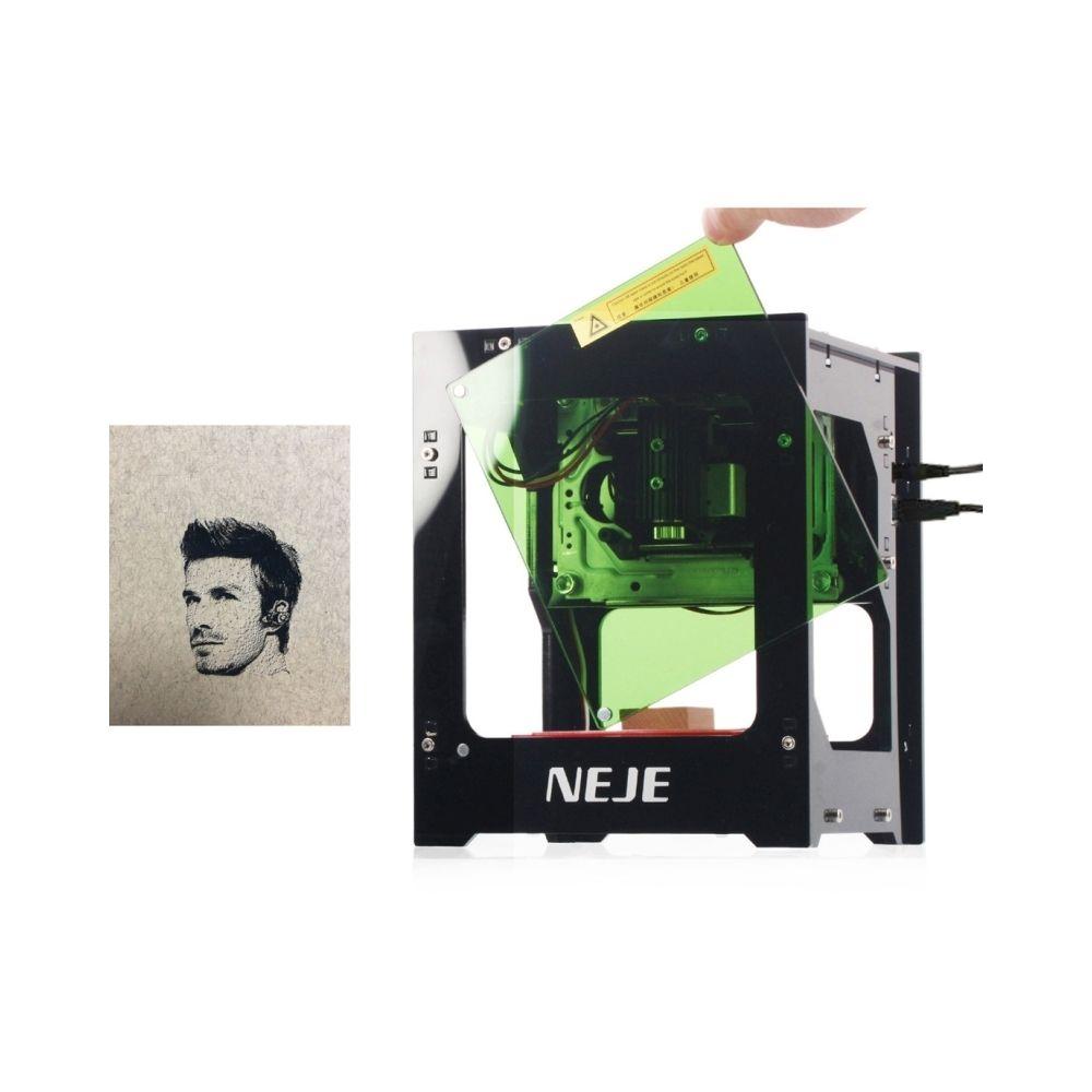 Wewoo Machines à graver Machine de gravure laser USB KZ 2000mW Bluetooth DIY DIY