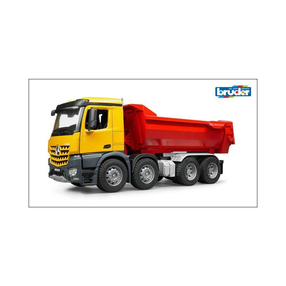 Bruder Bruder 03623 Camion à benne basculante semi-ronde MB Arocs