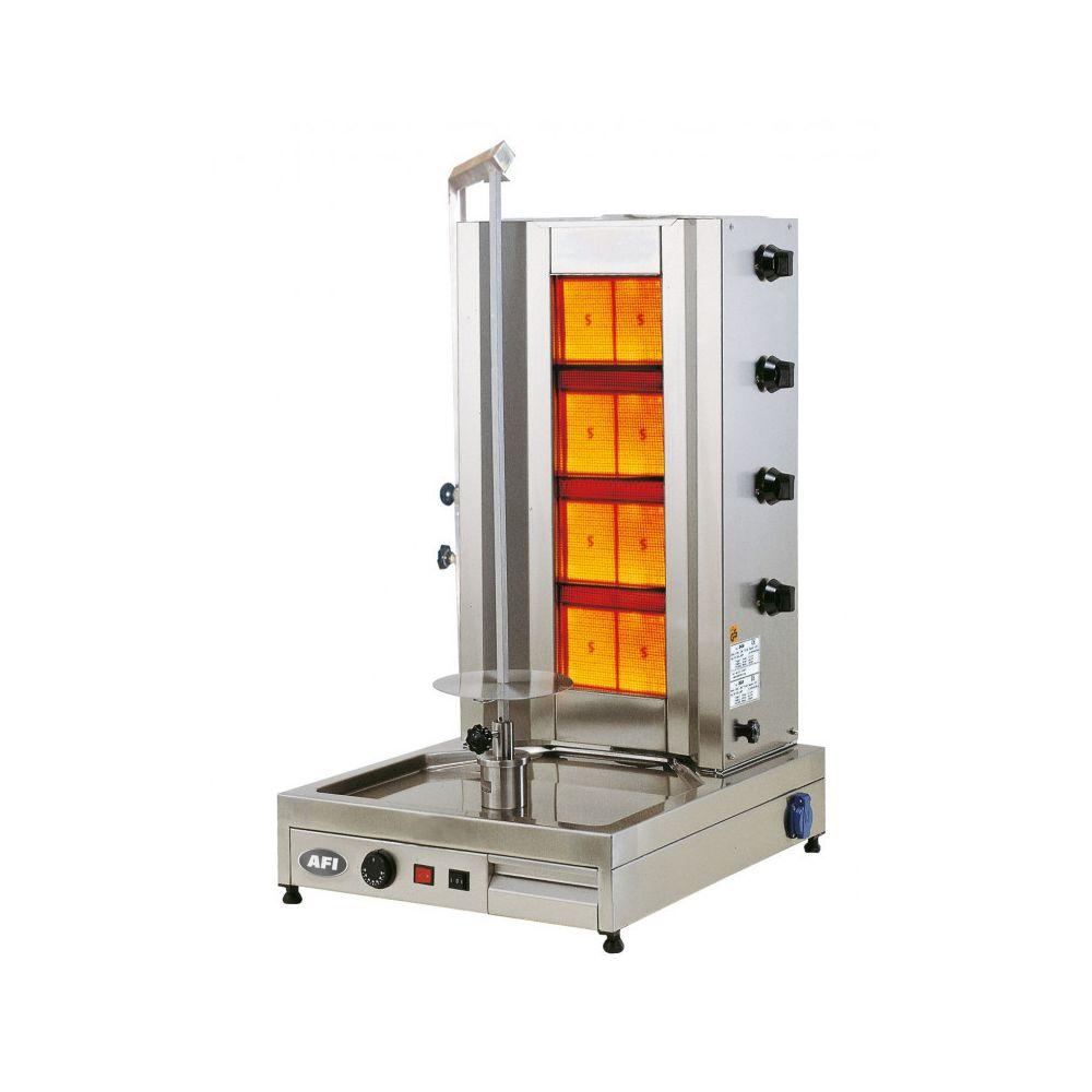 Materiel Chr Pro Döner Grill Gaz Capacité 90 kg - AFI Collin Lucy -