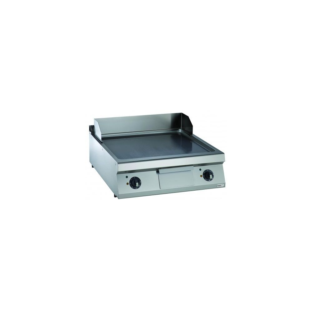 Combisteel Plaque à snacker électrique lisse - Série 900 - Combisteel - Inox 900