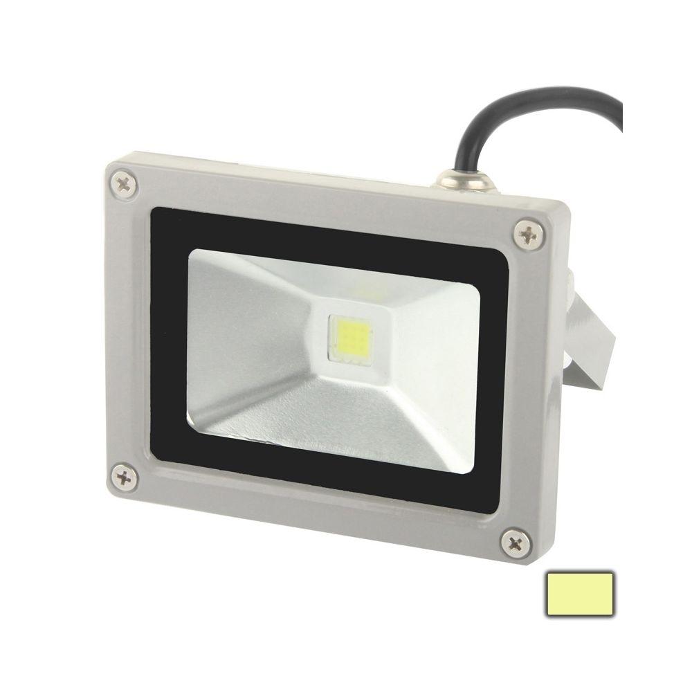 Wewoo Projecteur LED Lampe de de blanche chaude de la puissance élevée 10W, CA 85-265V, flux lumineux: 900lm