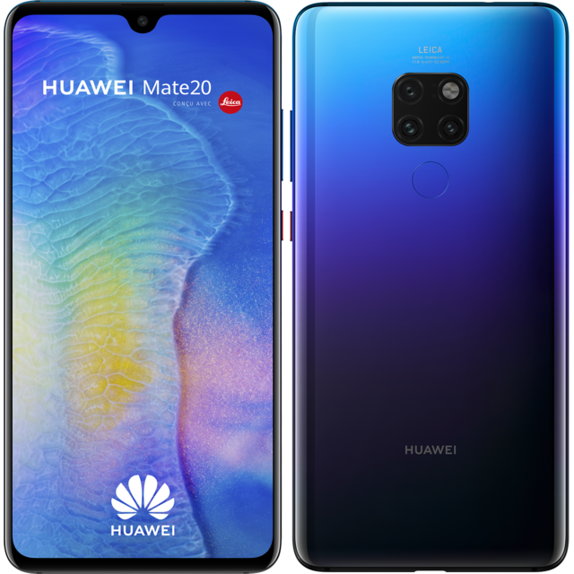 Smartphone Android Huawei Mate 20 - 128 Go - Twilight
