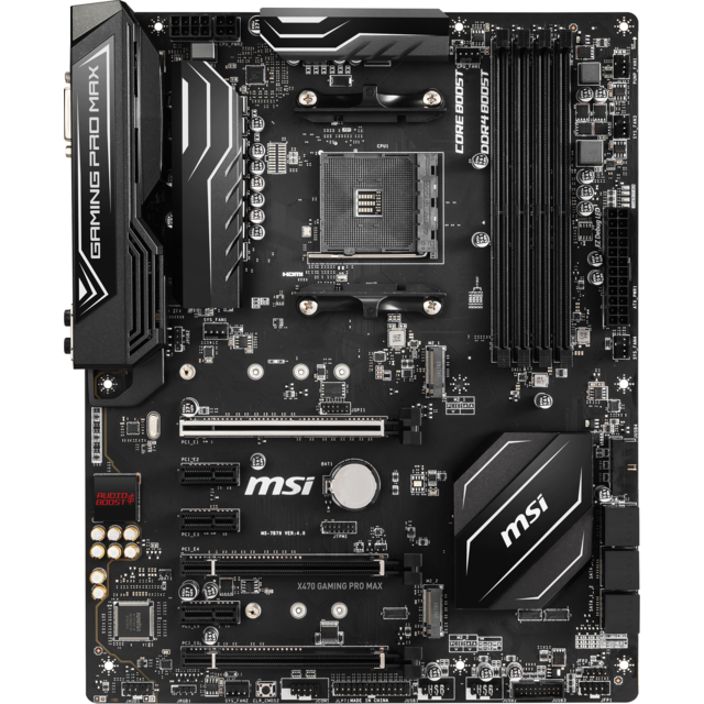 Msi - AMD X470 GAMING PRO MAX - ATX  Msi   - Composants