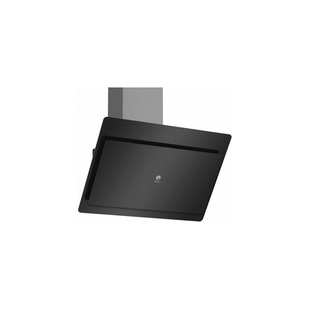Totalcadeau Hotte standard carrée Noir - Hotte de cuisine 80 x 50 x 32,3 cm