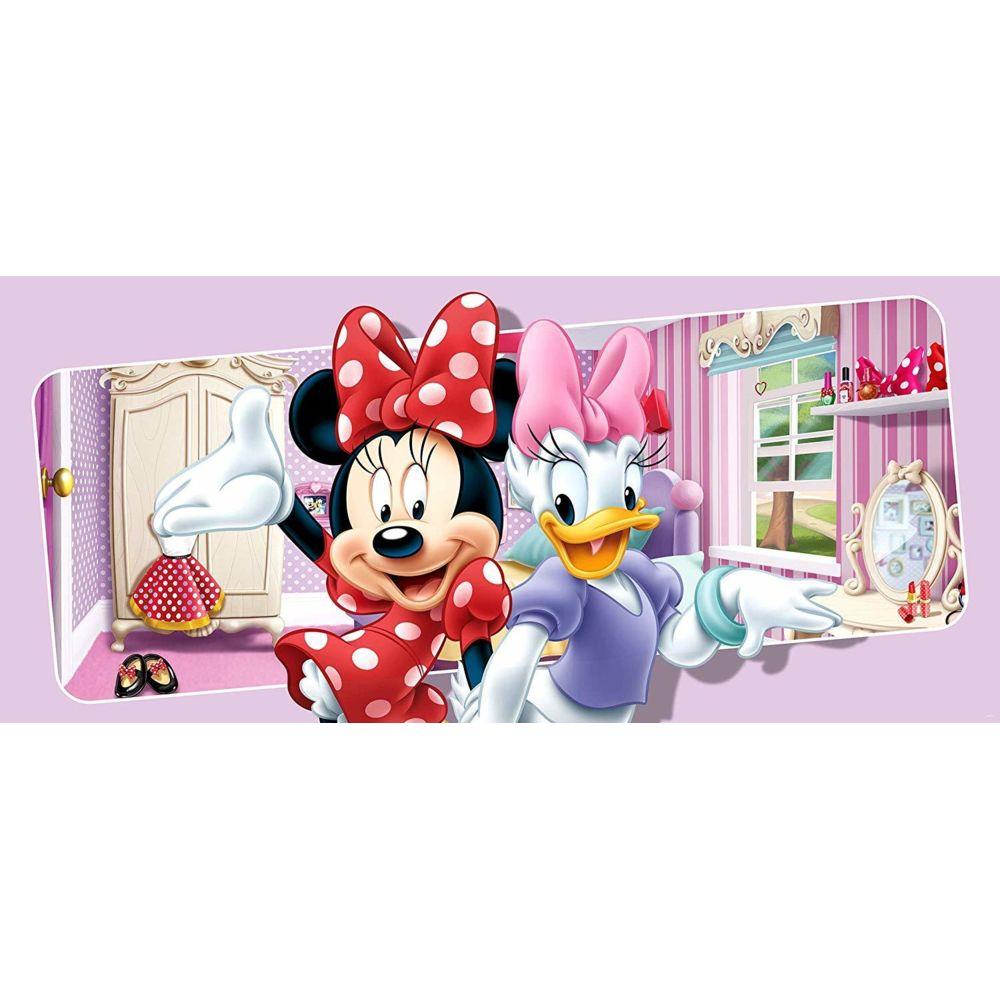 Bebe Gavroche Poster géant Minnie & Daisy Disney intisse 202X90 CM