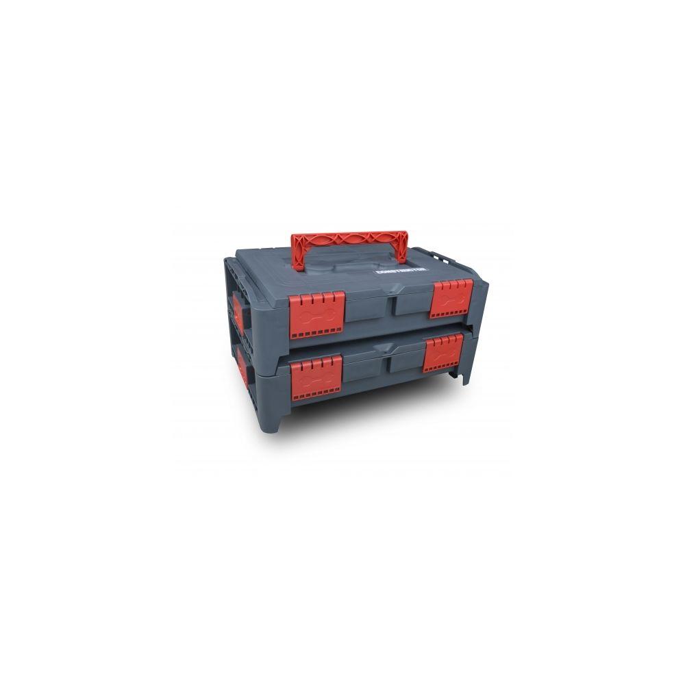 Constructor Lot de 2 coffrets empilables BEPS1 - Constructor