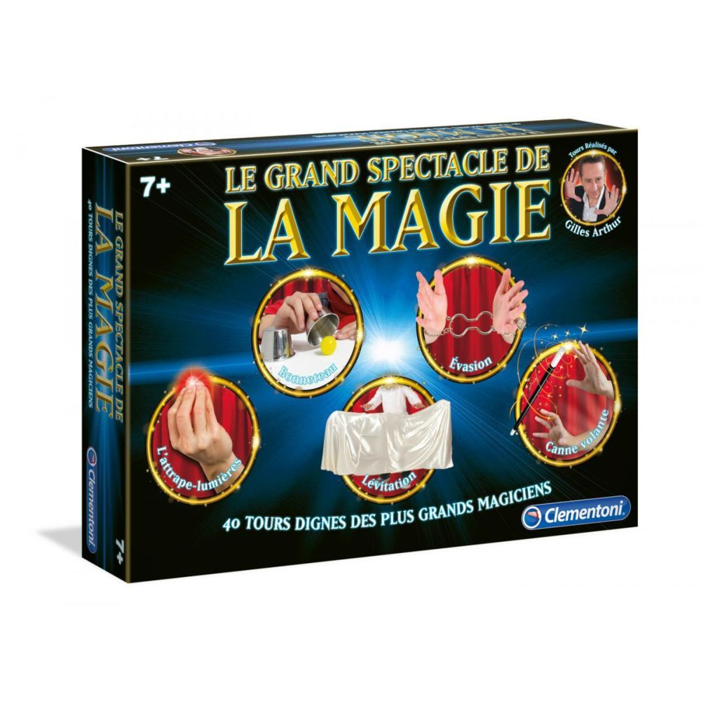 Clementoni CLEMENTONI - Le Grand spectacle - Jeu de magie