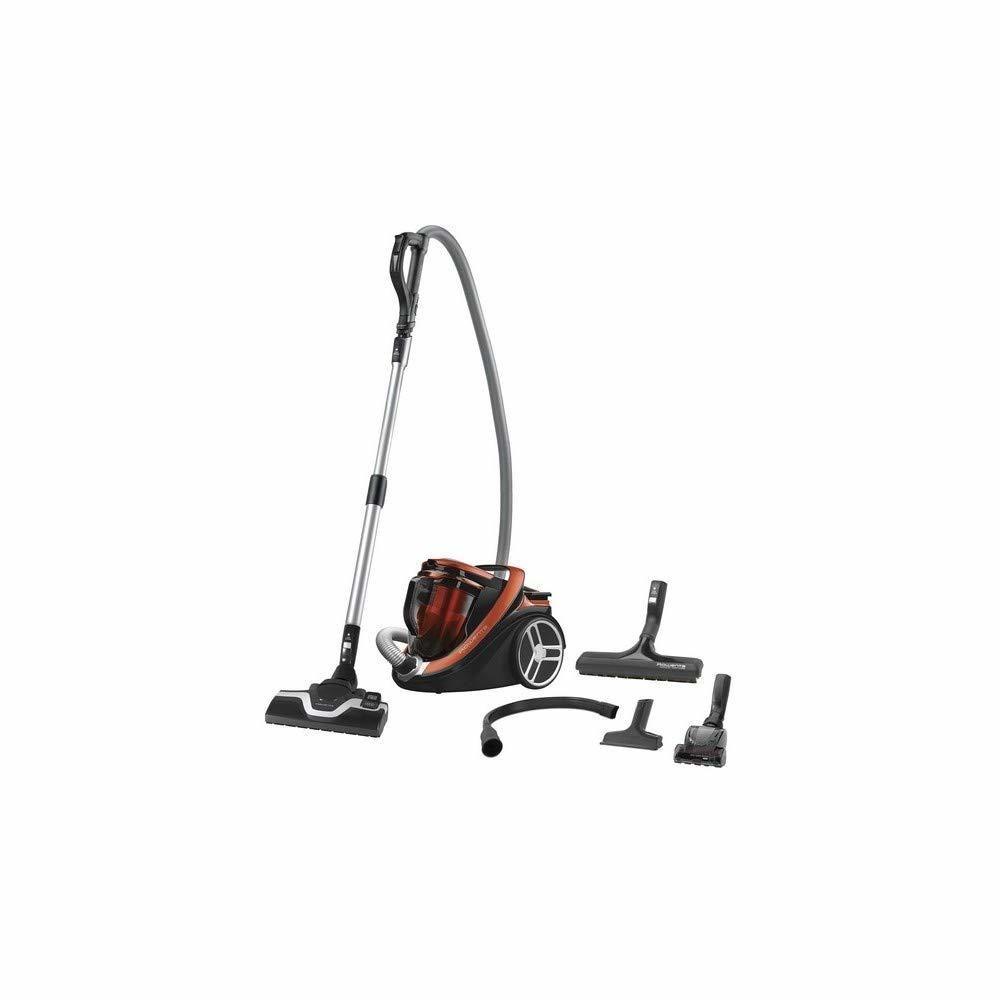 Rowenta aspirateur sans sac Silence Force Cyclonic de 2,5L 550W orange rouge noir