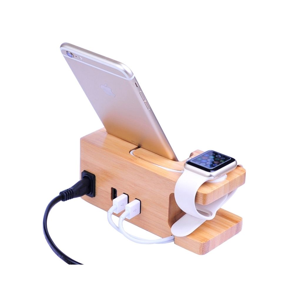 Wewoo Support Holder pour iPhone, iWatch, iPad, tablettes, Samsung, , Xiaomi, HTC et autres smartphone, appareils rechargeable