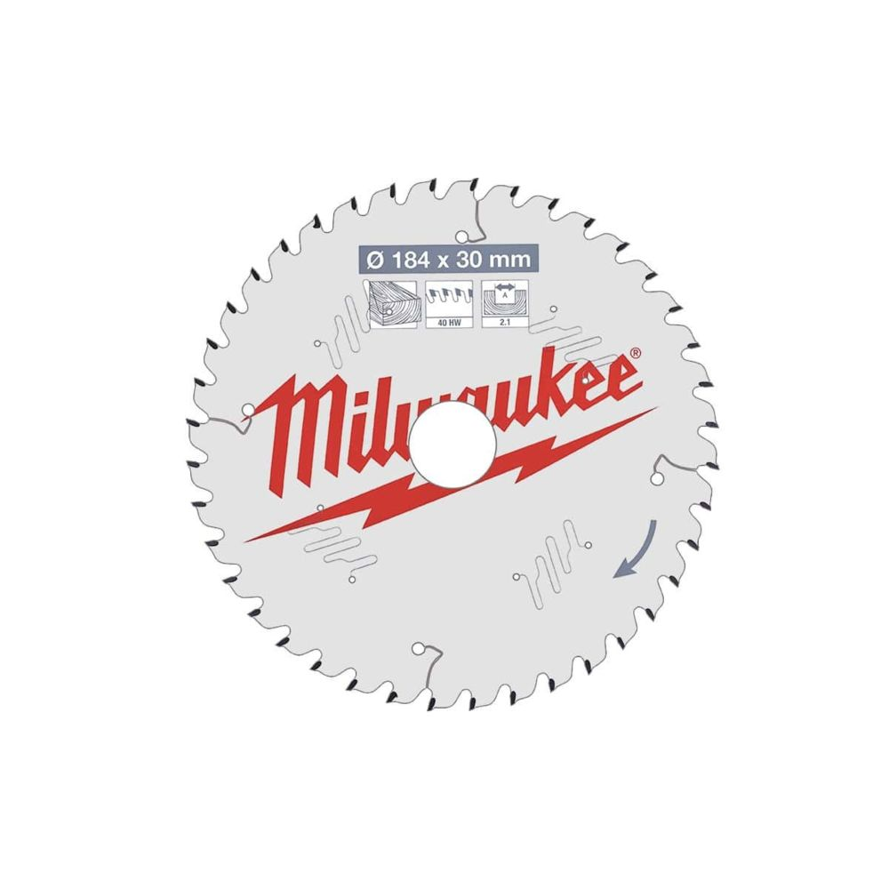 Milwaukee Lame scie Universel MILWAUKEE 40 dents 2.1x184mm 4932471298