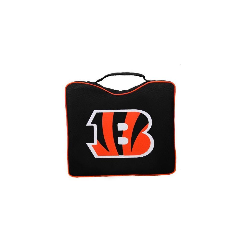 Rawlings NFL Lightweight Stadium Bleacher Seat Cushion with Carrying Strap Cincinnati Bengals