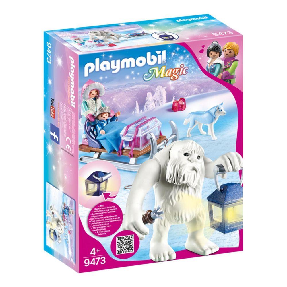 Playmobil PLAYMOBIL 9473 Magic - Yéti avec traineau