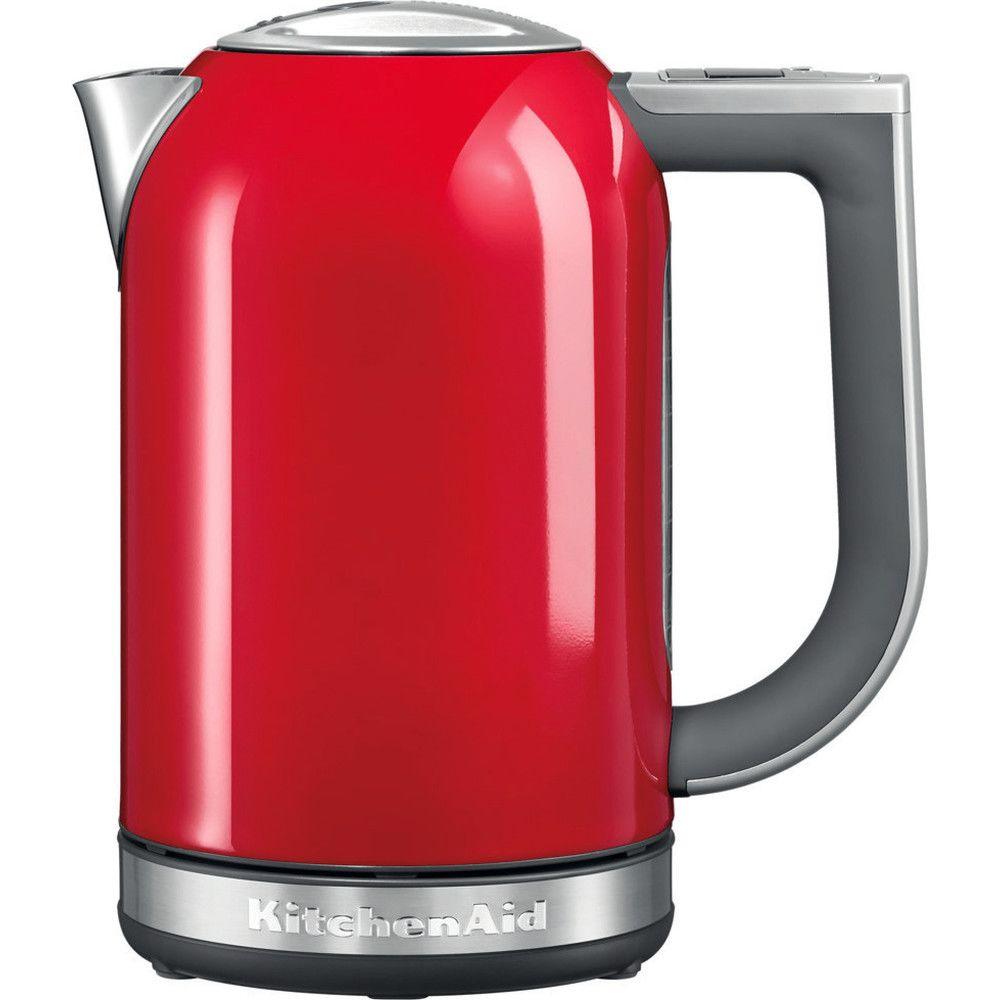 Kitchenaid bouilloire électrique de 1,7L 2400W rouge empire argent
