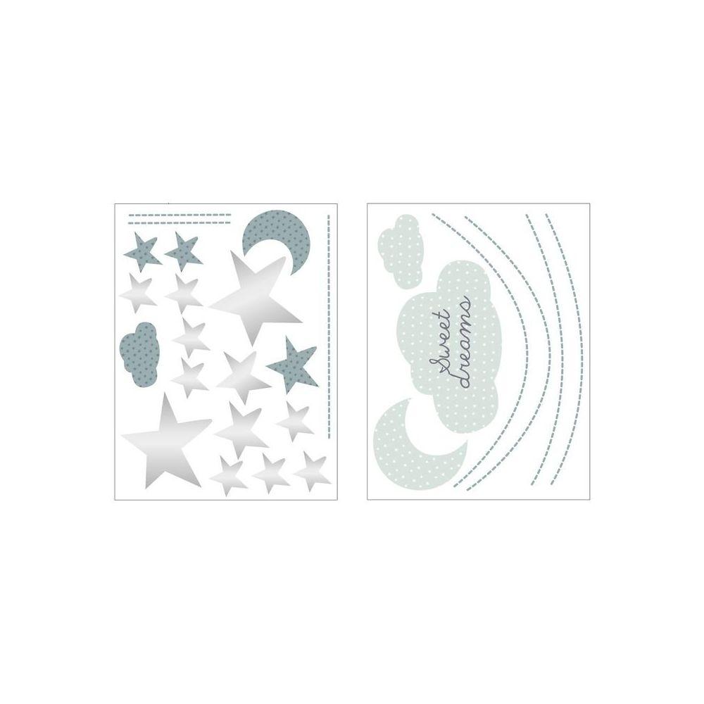 Sauthon Stickers muraux Nuage Céleste - Sauthon
