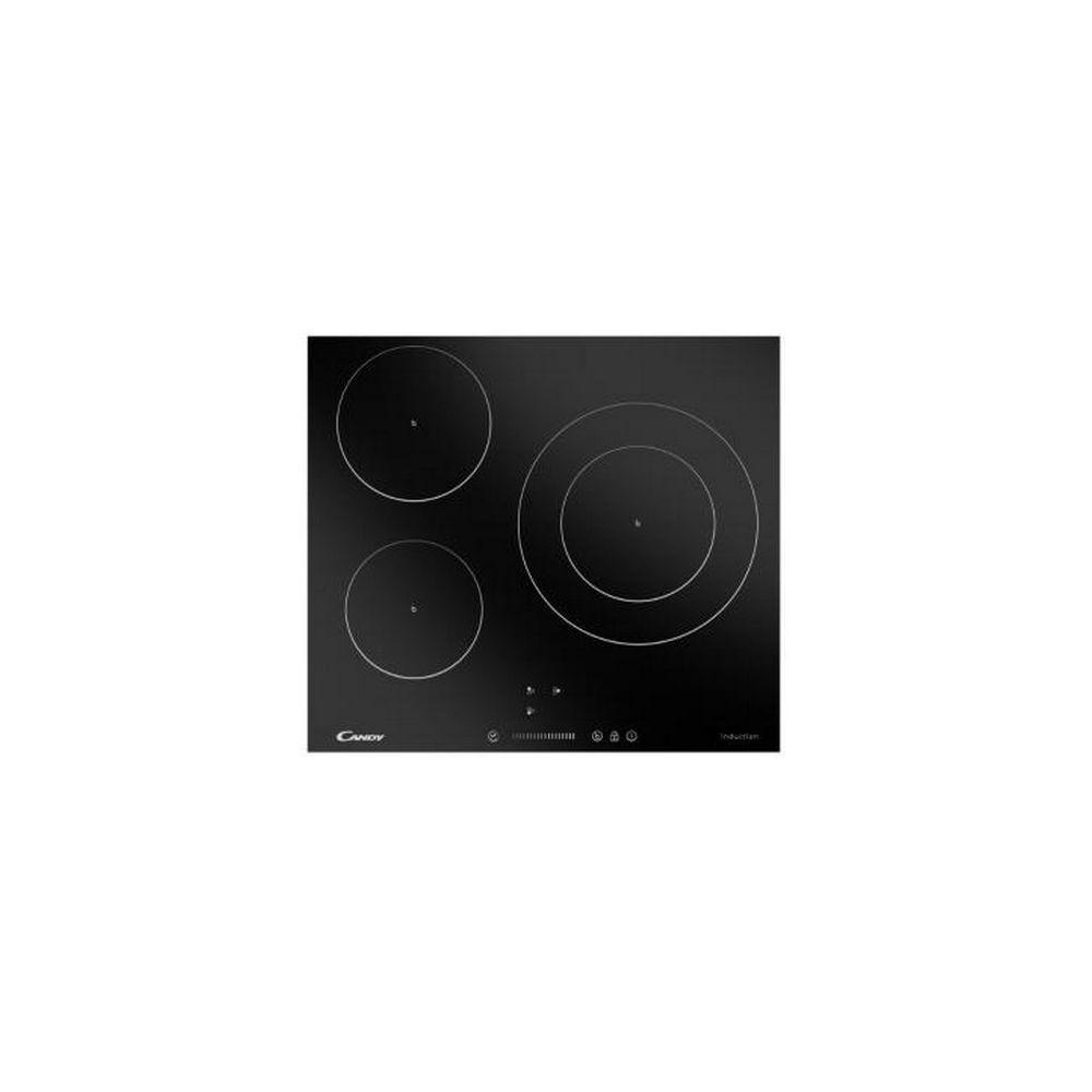 Candy Plaque à Induction Candy CI6744 59 cm (3 zones de cuisson) Noir