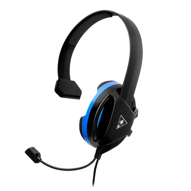 Turtle Beach - Recon Chat PS4 - Filaire Turtle Beach   - Micro-Casque Circum auriculaire