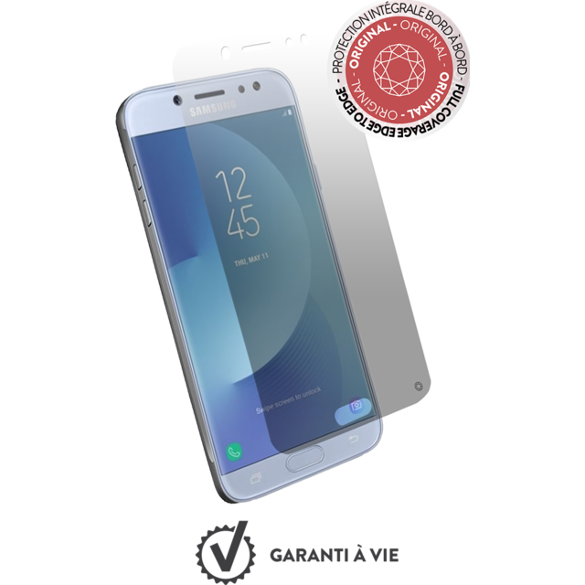 Force Glass - Verre trempe Galaxy J3 2017 - Transparent - Protection écran smartphone
