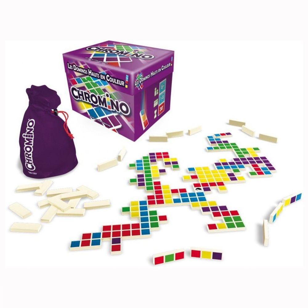 Asmodee Chromino Nouvelle Version