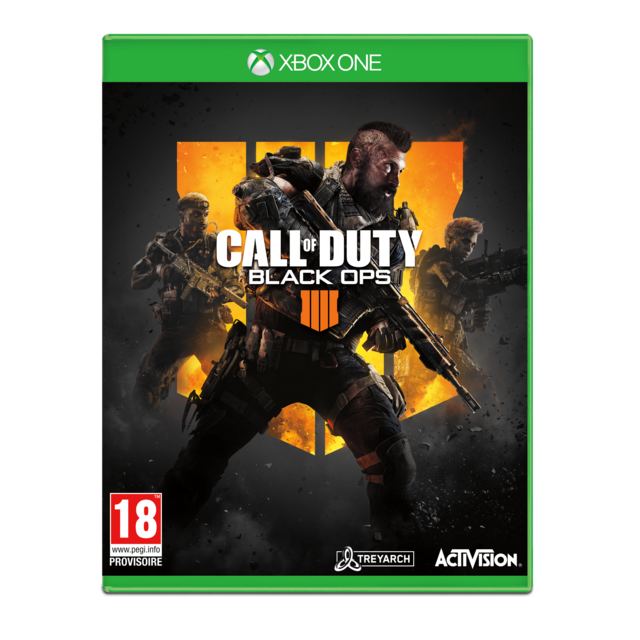 Activision -Call of Duty : Black OPS 4 - Jeu Xbox One Activision  - Activision