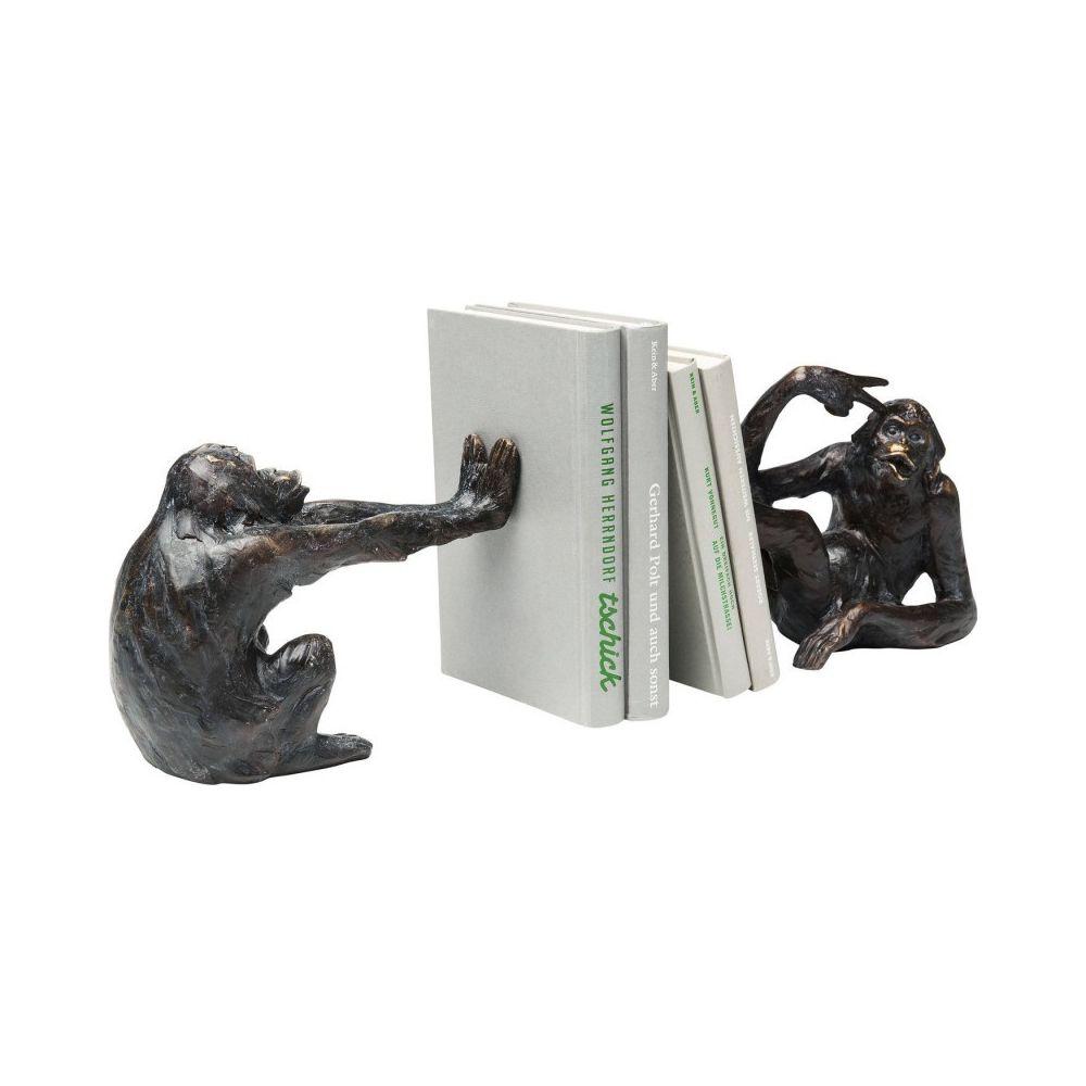 Kare Design Serre-Livres /él/éphants 42cm Set de 2
