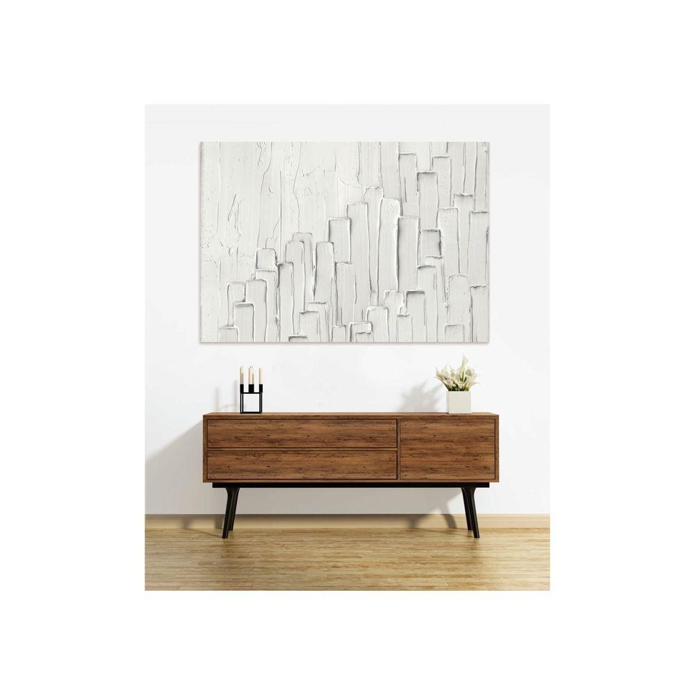 Rendez Vous Deco Tableau en verre acrylique Bianca 130 x 90 cm
