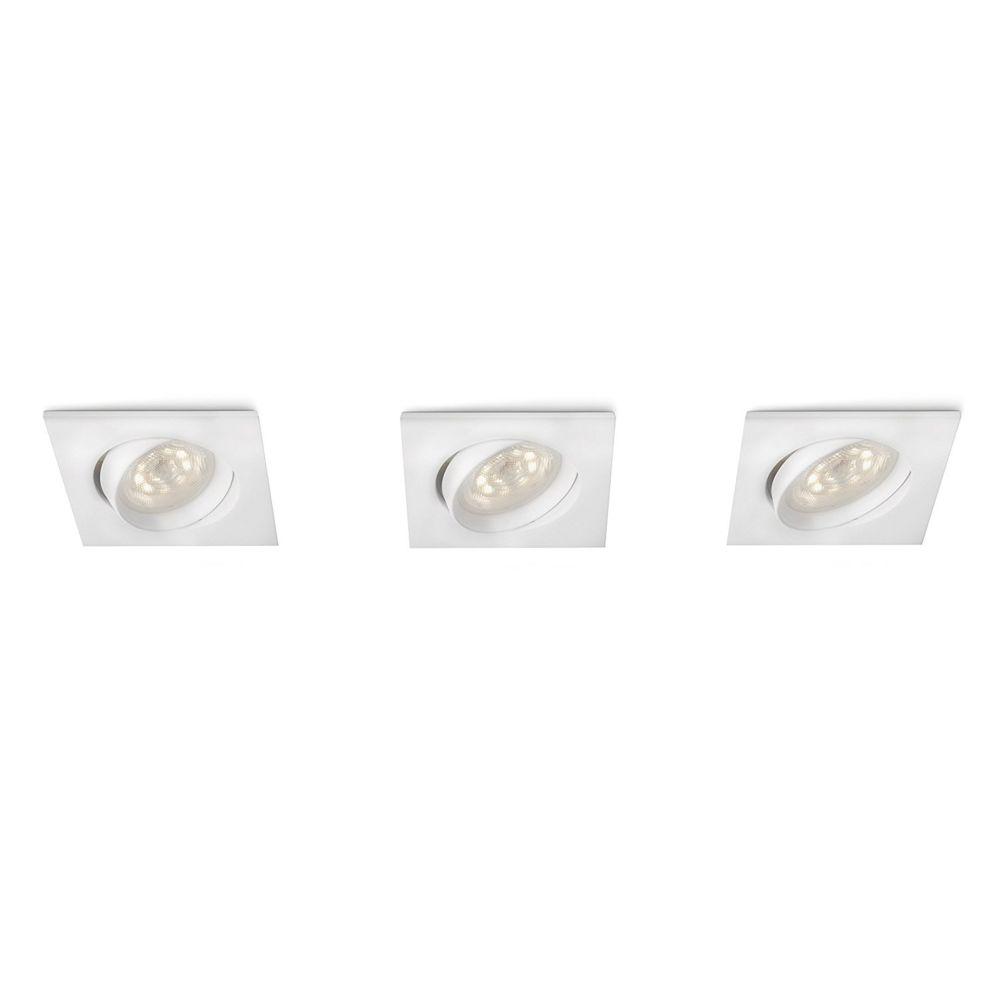 Philips 518262 - Spots encastrables Galileo LED - Blanc