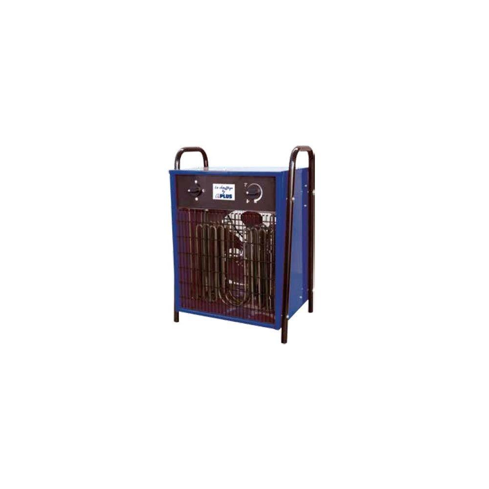 Splus SPLUS - Aérotherme électrique 4,5 / 9,0 kW Tri 400V 37°C max. - ELP 9.1