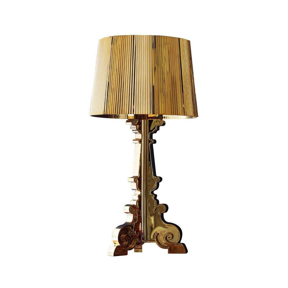 Kartell BOURGIE - Lampe à poser Or H68-78cm