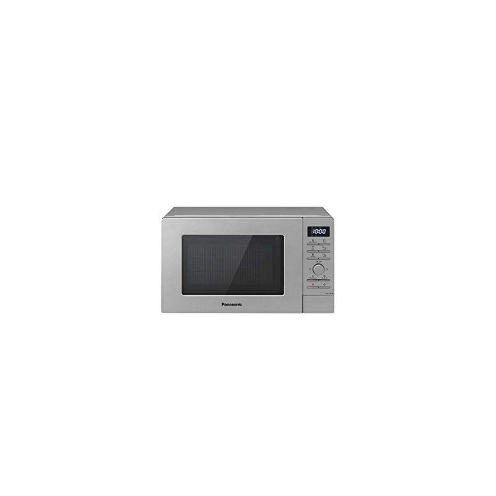 Totalcadeau Micro-ondes avec Gril 20L 800W Acier inoxydable - Micro ondes grill cuisine