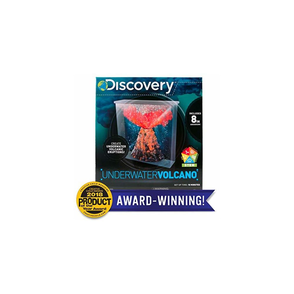Discovery Discovery Under Water Volcano Eruption by Horizon Group Usa Perform Stem Science Fair Experiments with Bubbly Fizzy Lava