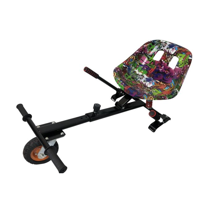 Air Rise - HOVERKART GRAFFITI VIOLET TOUT-TERRAIN POUR HOVERBOARD - Gyropode, Hoverboard