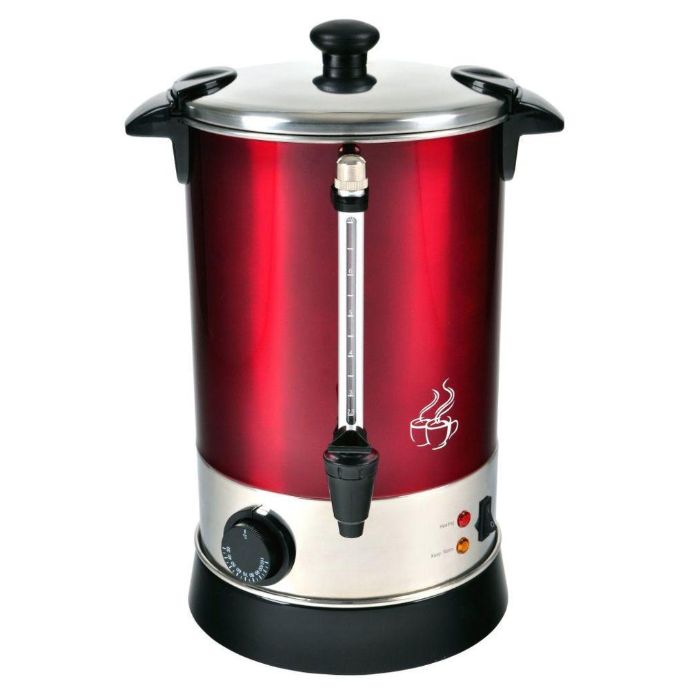 Kalorik kalorik - distributeur de boissons chaudes 6.8l 950w rouge - tkg gw900