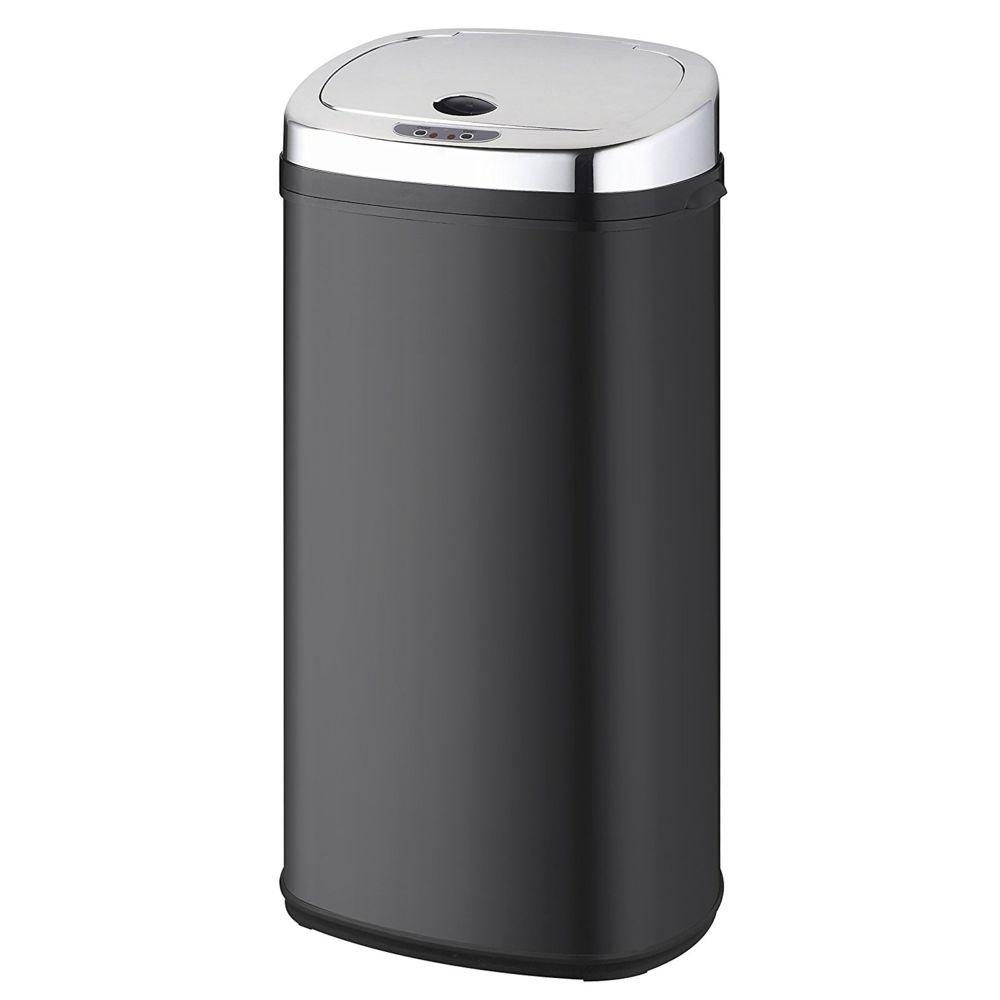 Kitchen Move kitchen move - poubelle automatique 42l noir/inox - bat-42ls02a black ss