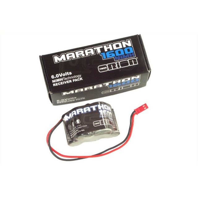 Orion -Marathon 1600 Receiver Pack 6.0V NiMH Bec 24 AWG Orion  - Batteries et chargeurs Orion