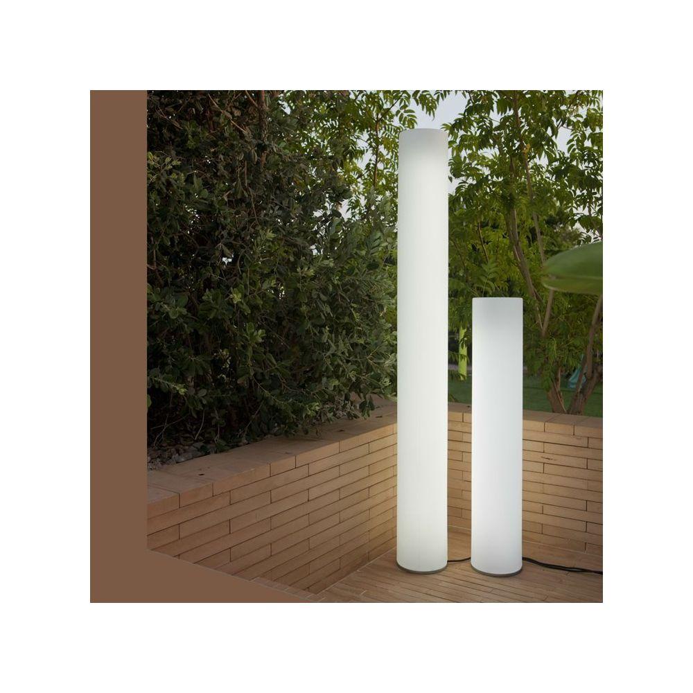 New Garden FITY-Lampadaire d'extérieur / Colonne lumineuse LED avec câble H160cm Blanc New Garden