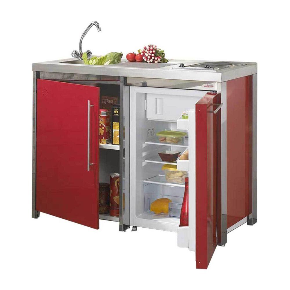 Moderna Kitchenette METALLINE Bas Red
