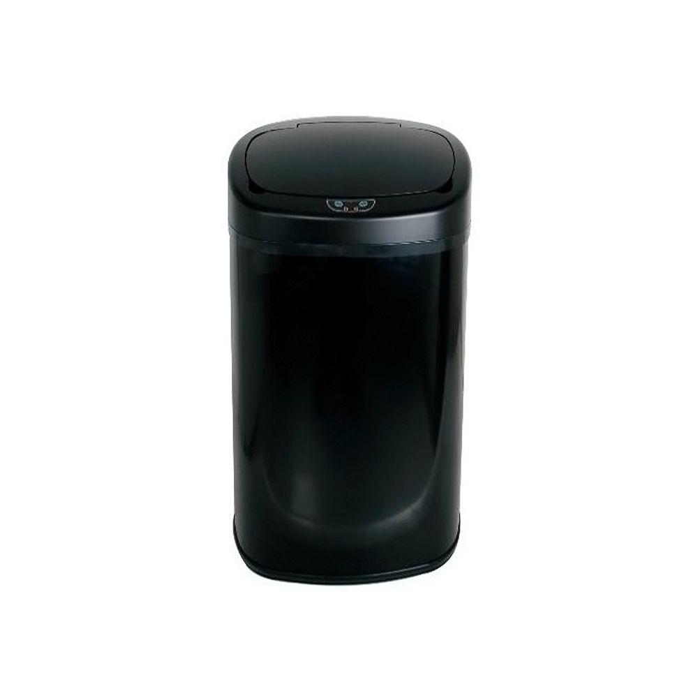 Kitchen Move kitchen move - poubelle automatique 68l noir - bat-68ls06a black ss