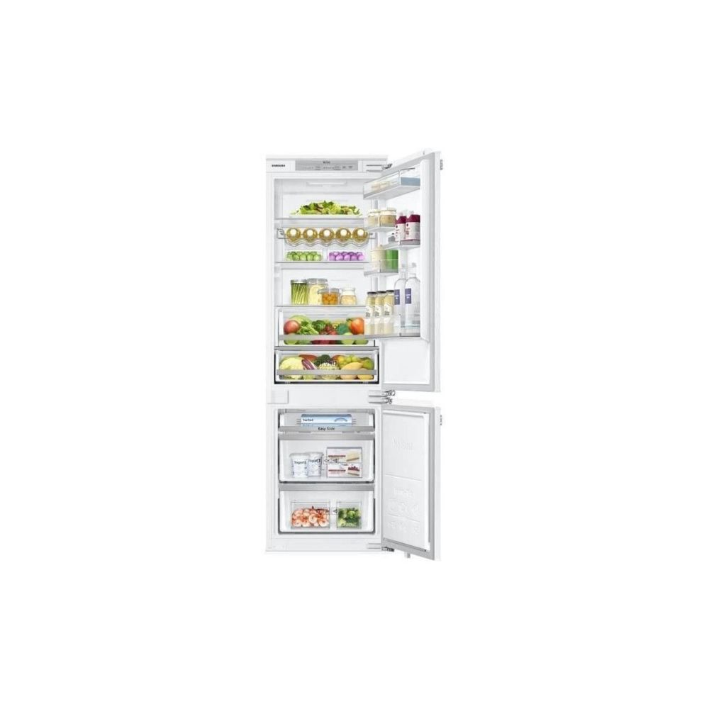 Samsung SAMSUNG - BRB260134WW - Refrigerateur Combine integrable - 267L 195L + 72L - Froid ventile integral - A++ - L54cmxH177,5