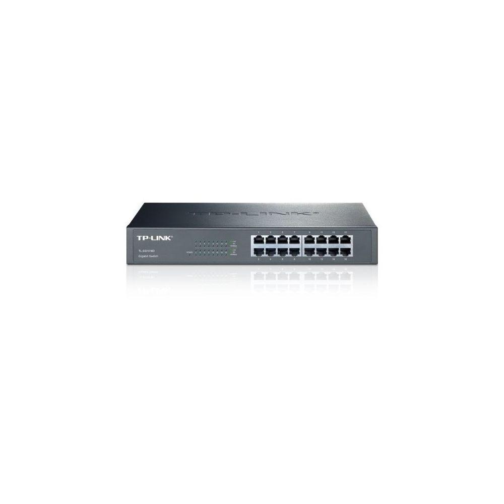 TP-LINK Commutateur Réseau Armoire TP-LINK TL-SG1016D 16P Gigabit