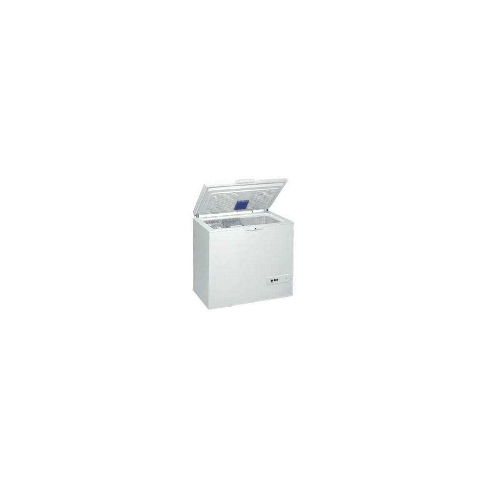 whirlpool whirlpool - congélateur coffre 118cm 311l a++ blanc - whm31112