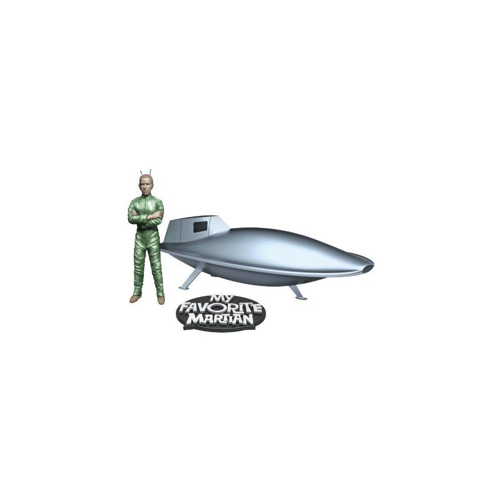 Pegasus Hobbies Pegasus Hobbies My Favorite Martian Spaceship And Uncle Martin Model Kit
