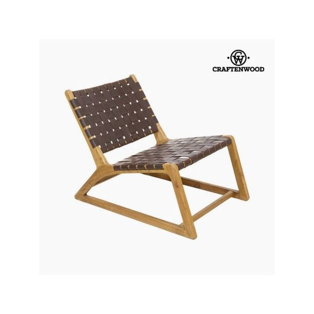 Craften Wood - Fauteuil Bois mindi (60 x 80 x 70 cm) by Craftenwood - Salons complets