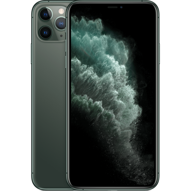 Apple - iPhone 11 Pro Max - 256 Go - MWHM2ZD/A - Vert nuit Apple   - iPhone Iphone 11 pro max