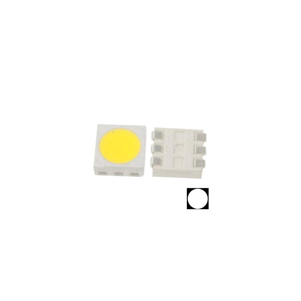 Wewoo LED Perle blanc pour 1000pcs 1000x SMD 5050 Light Diode, Flux lumineux: 14-16lm 1000pcs dans un emballage, le prix est